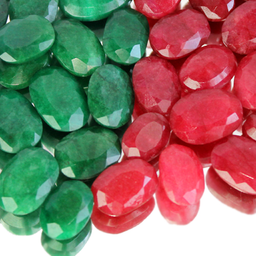 wholesale 100 cts emerald ruby